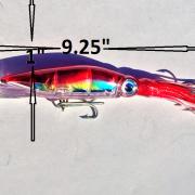 "100 #3 WTP 3//16/"" Flat 2D Fishing Lure Jig Eyes Transparent Pearl"